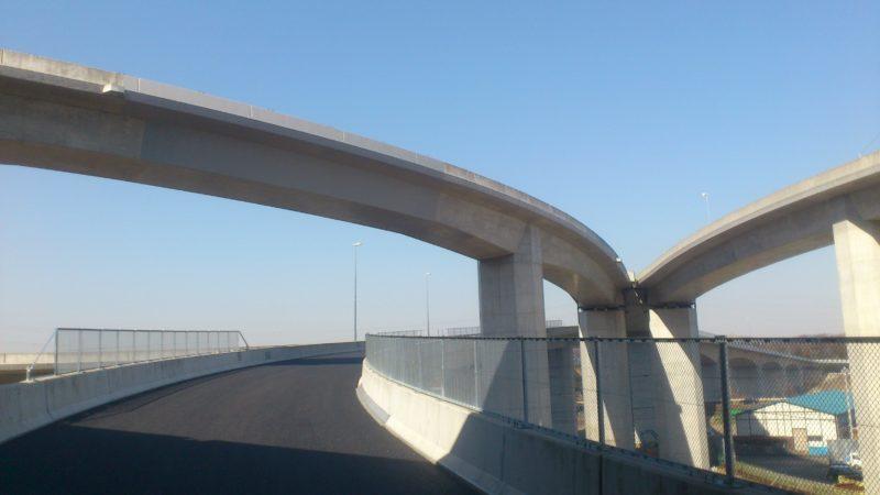 相模原・愛川C1ランプコンクリート剥落防止