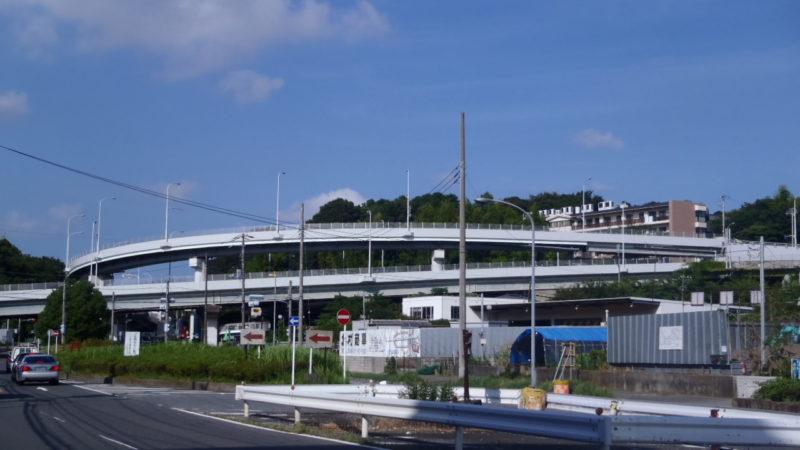関谷陸橋コンクリート剥落防止