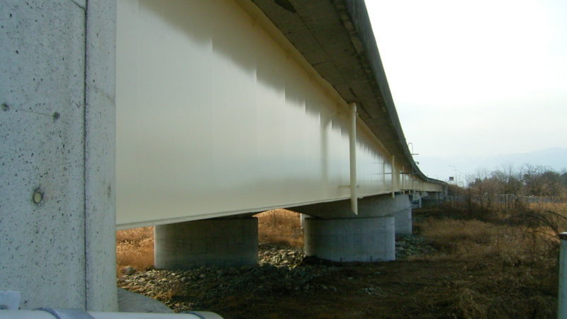 中央自動車道 金川橋(上り線)塗替塗装工事