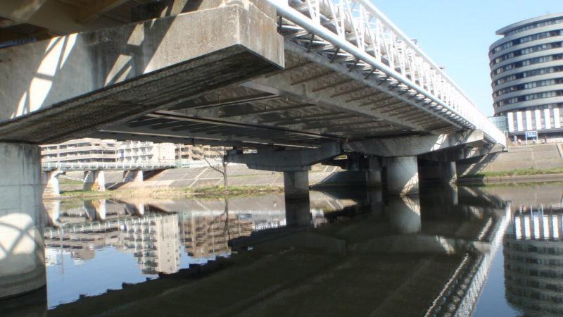 港北区大綱橋塗装工事
