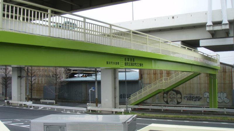 寛政町歩道橋塗装工事