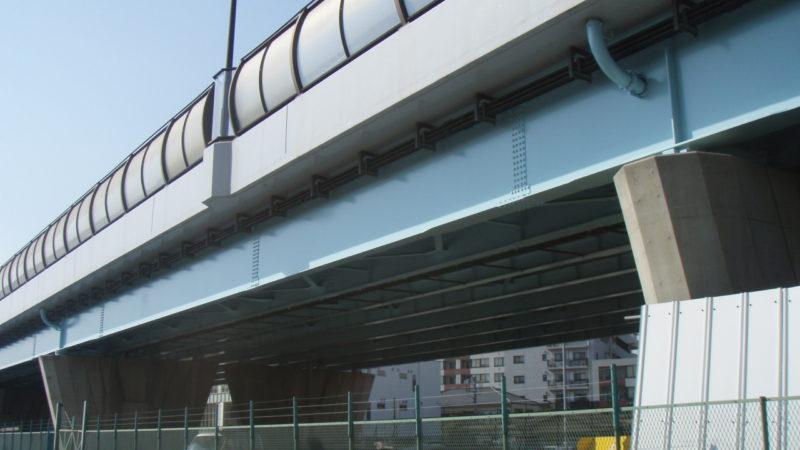 H25鶴間高架橋他塗装工事